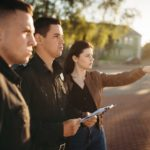 How do officers enforce the law and protect first amendment rights